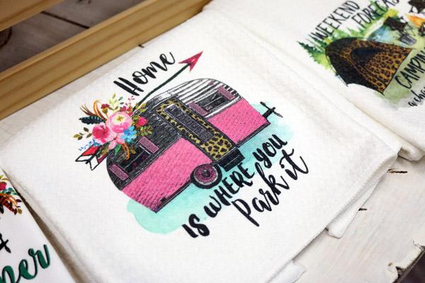 customized hand towel