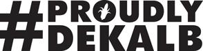 #ProudlyDeKalb logo
